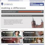 Liverpool University Induction built on flourish learning platform